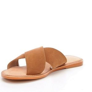 Ava Banded Slide-On Sandals 24NoFdapx
